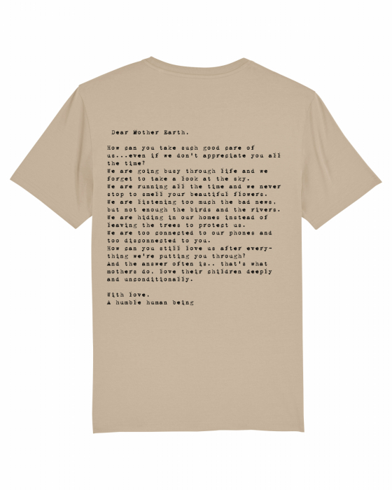 Tricou Unisex - Letter to Mother Earth 0