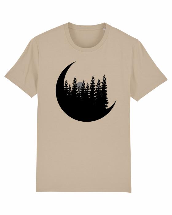 Tricou Unisex - Moon&Mountains 0