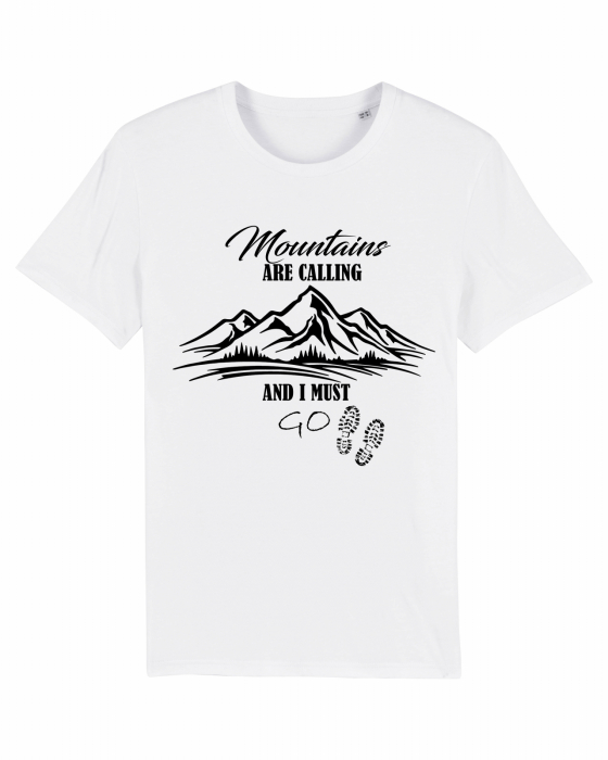Tricou unisex - Mountains are calling 1 1