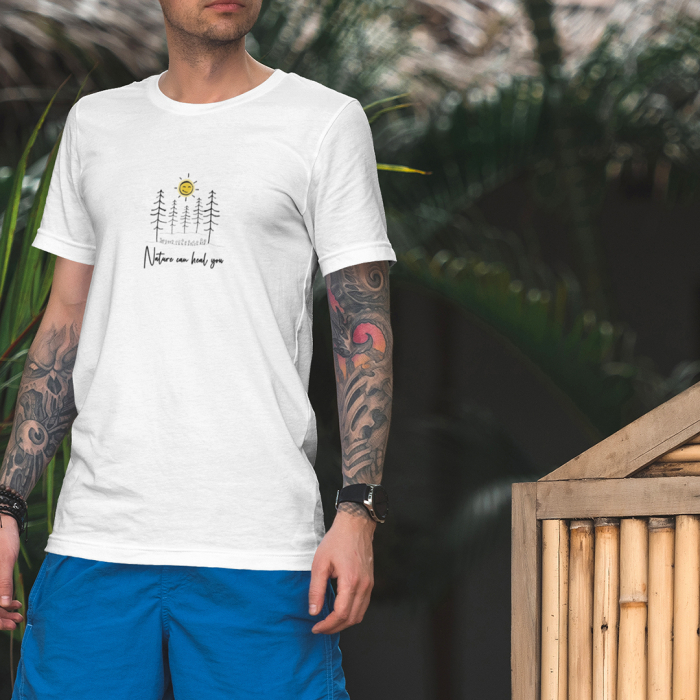 Tricou unisex - Nature can heal you 0