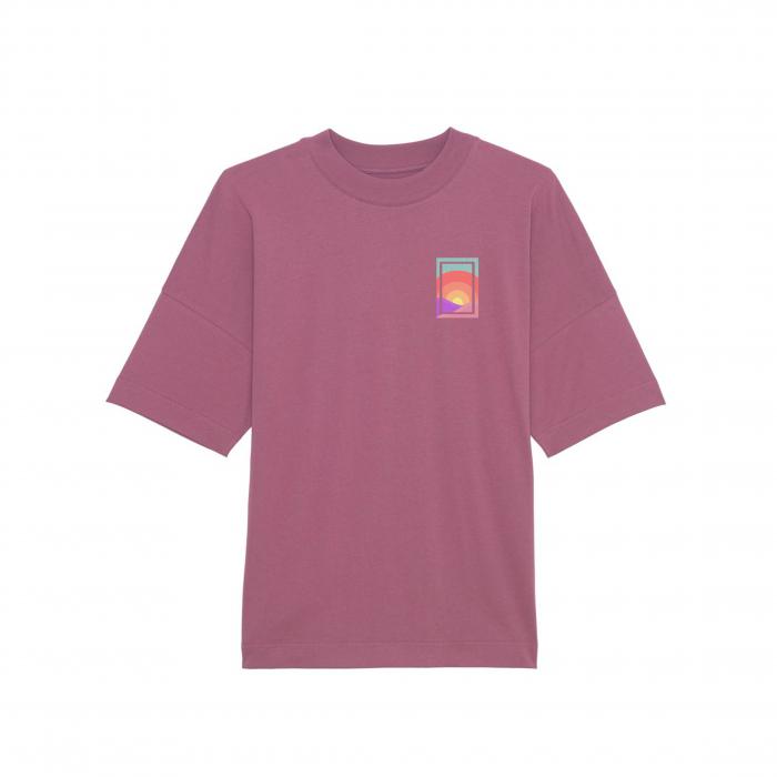 Tricou unisex oversized - Summer Sun [2]