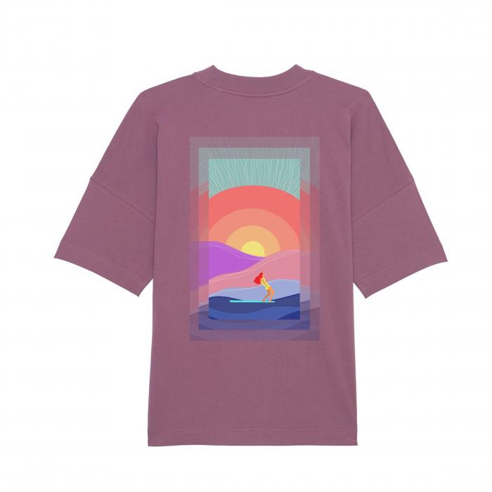 Tricou unisex oversized - Summer Sun [1]