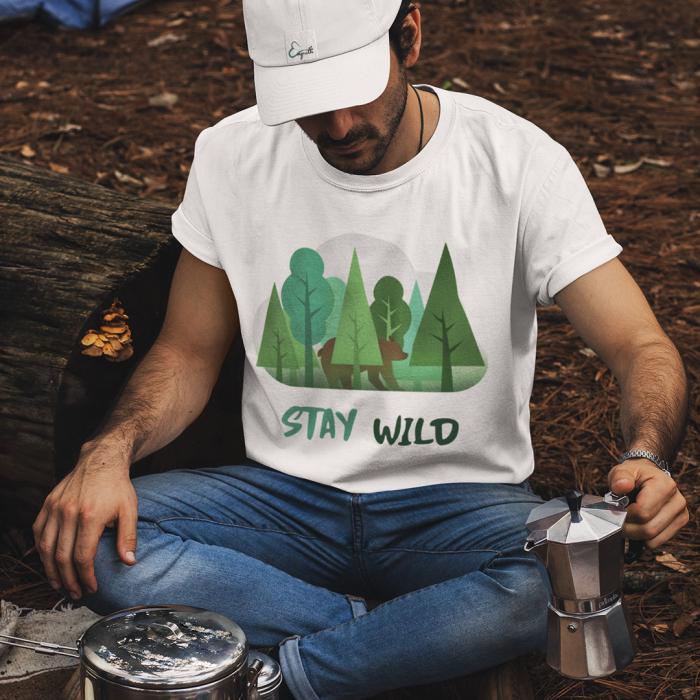 Tricou unisex - Stay Wild 0