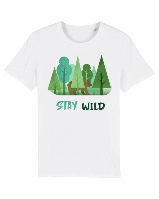 Tricou Unisex - Stay Wild 1