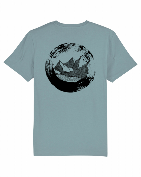 Tricou unisex - The Circle of Mountains 7