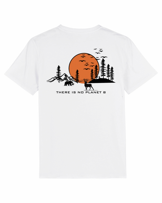Tricou unisex - There is no planet B [1]