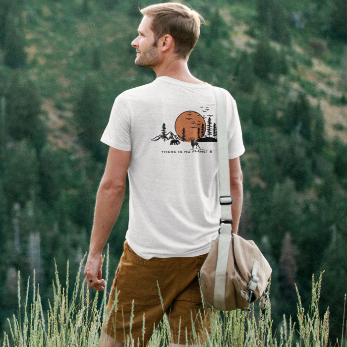 Tricou unisex - There is no planet B [0]