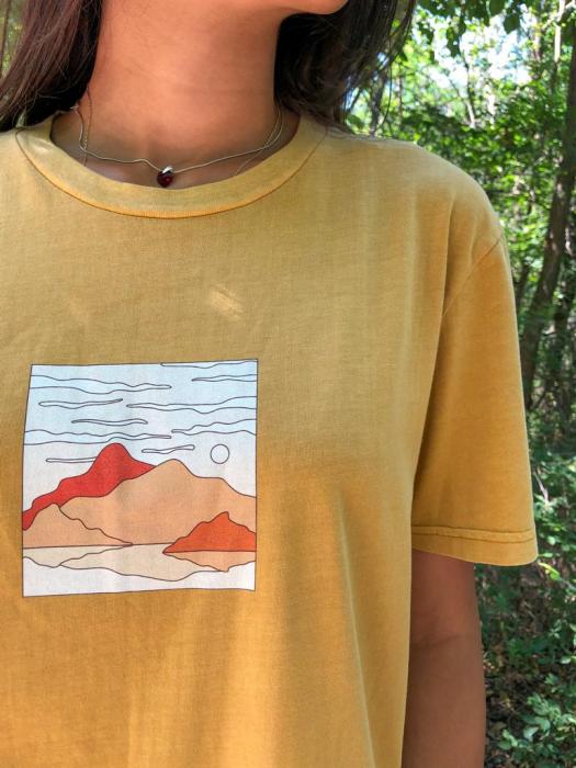 Tricou unisex vintage - BH Mountains and Sea [3]