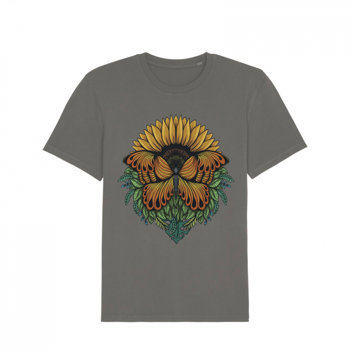 Tricou unisex vintage - Sunflower [0]
