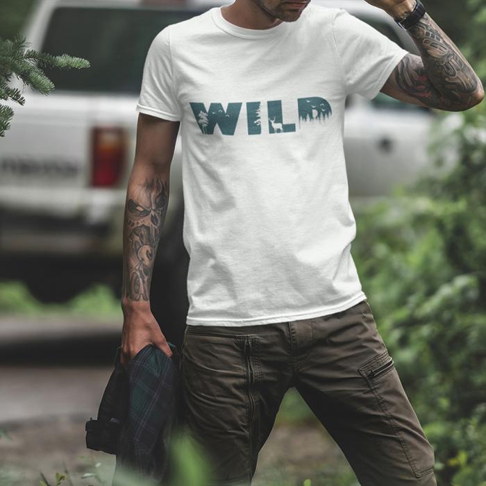 Tricou unisex - Wild 1 0