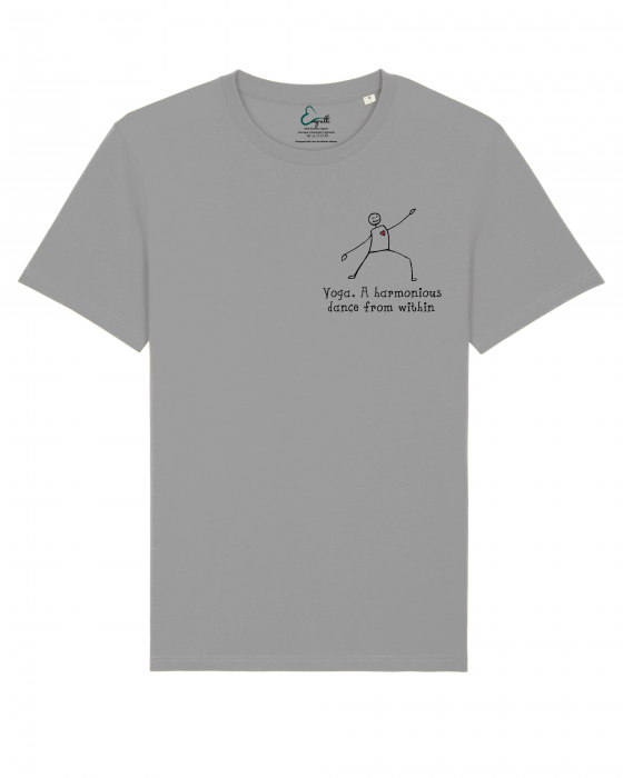 Tricou Unisex - Yoga. A harmonious dance from within 2