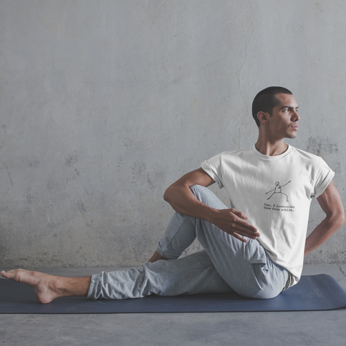 Tricou Unisex - Yoga. A harmonious dance from within 0