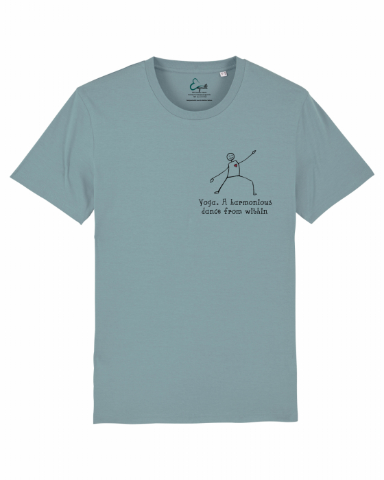 Tricou unisex - Yoga. A harmonious dance from within 4