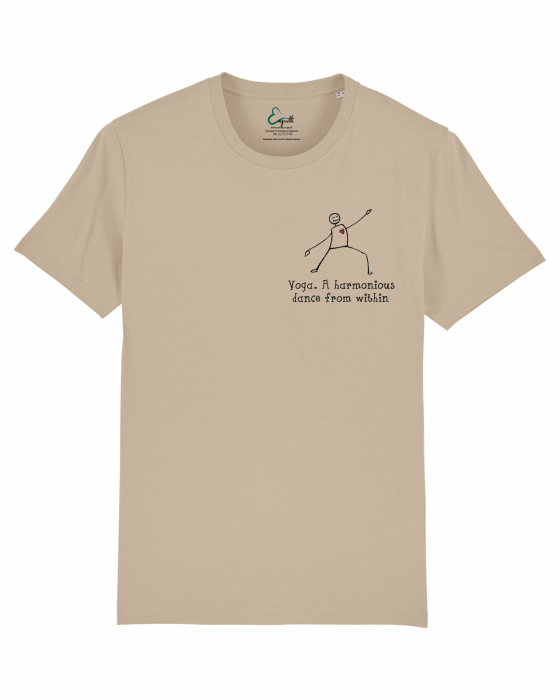 Tricou Unisex - Yoga. A harmonious dance from within 3
