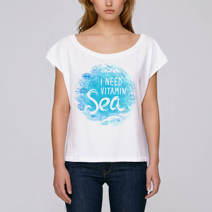 Vitamin Sea - tricou dama oversized [1]