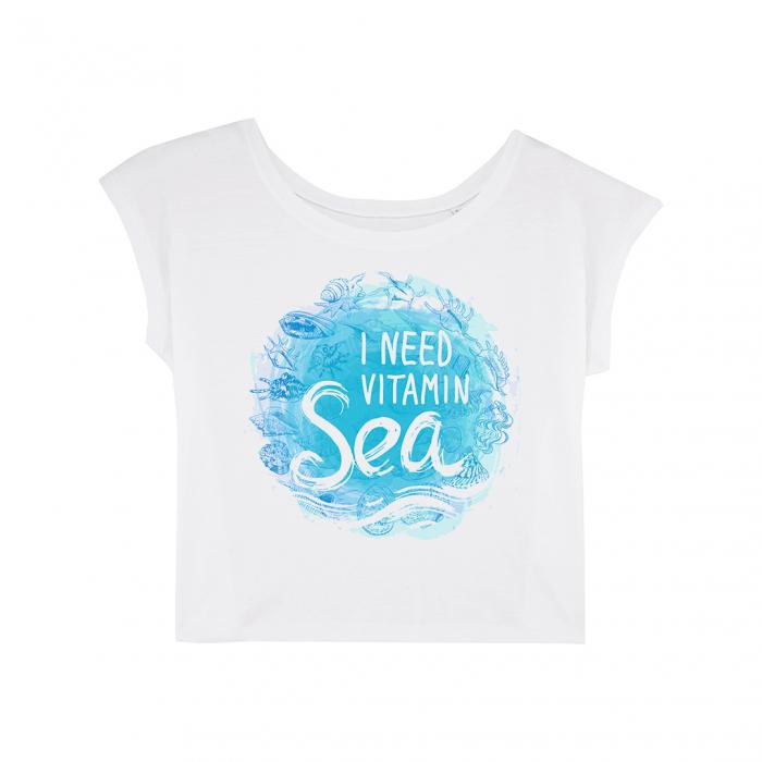 Vitamin Sea - tricou dama oversized [0]