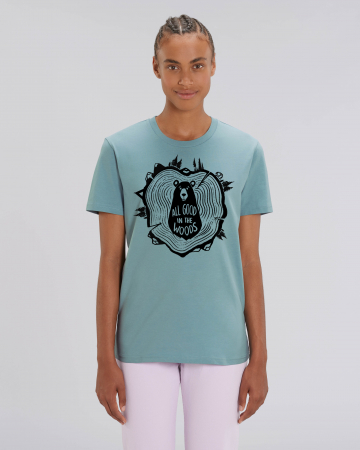 Tricou Unisex - All good in the woods11