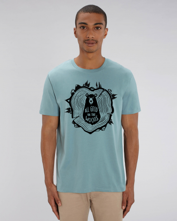 Tricou Unisex - All good in the woods10