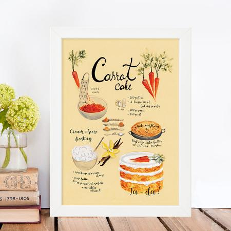 Tablou Carrot cake0