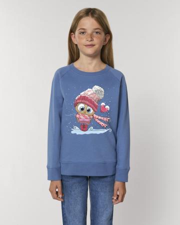 Bluza copii Bufnita cu inimioara1