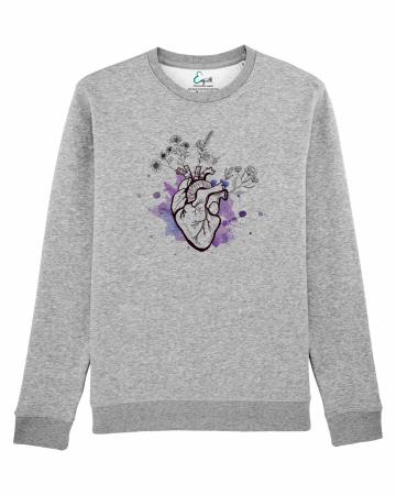 Bluza unisex Purple Heart1