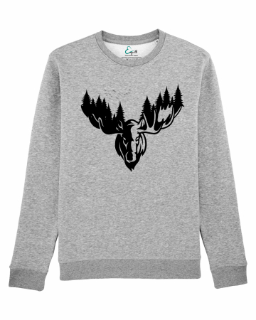 Bluza unisex The forest deer2
