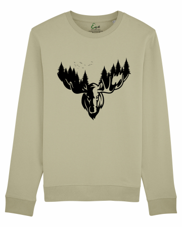 Bluza unisex The forest deer1