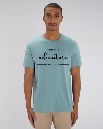 Tricou Unisex - Adventure Begins1