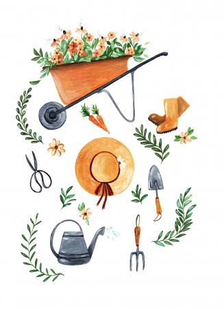 Tablou Garden tools2