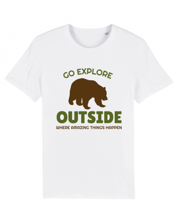 Tricou Unisex - Go outside0