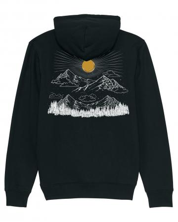 Hanorac unisex Sunrise in the Mountains [1]