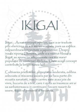 Ikigai - tricou unisex [4]