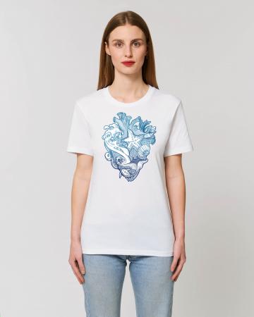 Tricou Unisex - Love blue oceans2