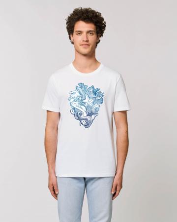 Tricou Unisex - Love blue oceans1