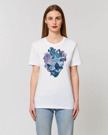 Tricou Unisex - Love purple oceans1