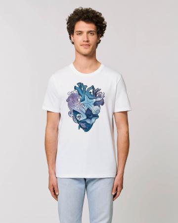 Tricou Unisex - Love purple oceans2