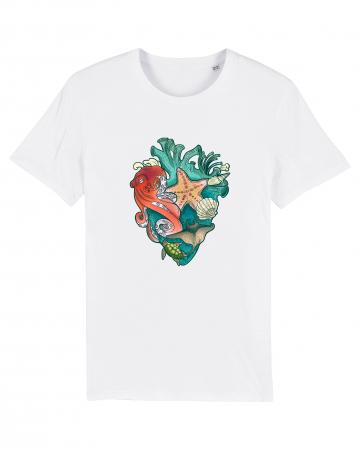 Tricou Unisex - Love multicolor oceans0