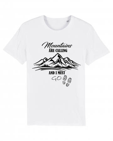 Tricou Unisex - Mountains are calling 10