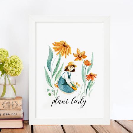 Tablou Plant Lady [1]