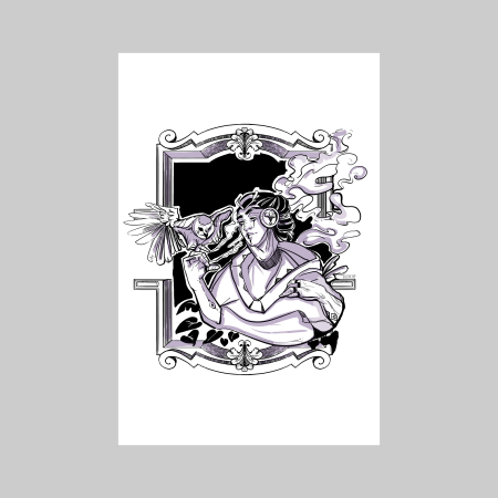 Owl whisperer 1 -print de arta [1]