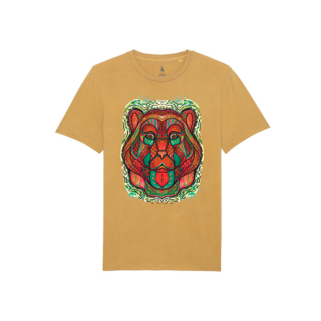 Psychedelic Bear - tricou unisex [4]