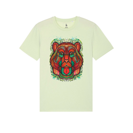 Psychedelic Bear - tricou unisex [5]