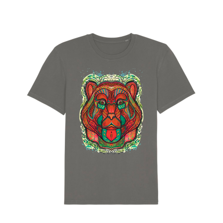 Psychedelic Bear - tricou unisex [3]
