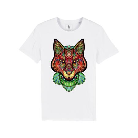 Psychedelic Fox - tricou unisex [0]