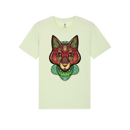 Psychedelic Fox - tricou unisex [4]