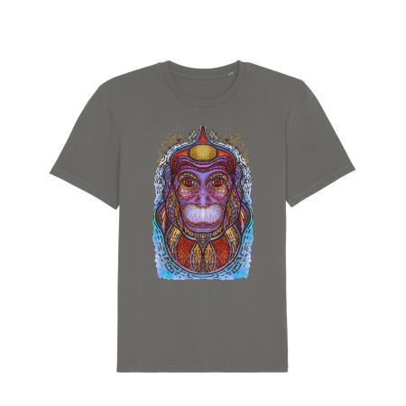 Psychedelic Monkey - tricou unisex [1]