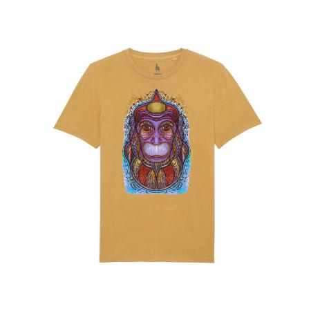 Psychedelic Monkey - tricou unisex [4]