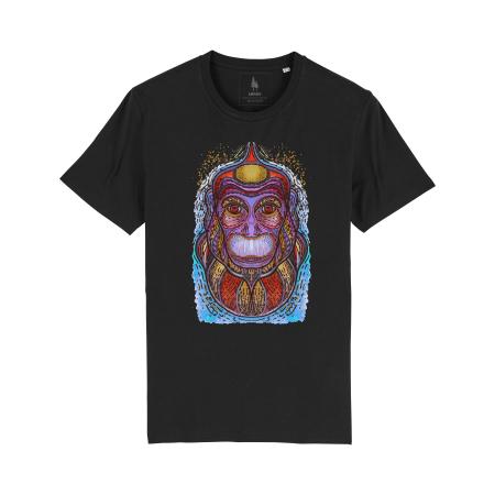 Psychedelic Monkey - tricou unisex [3]