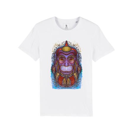 Psychedelic Monkey - tricou unisex [0]