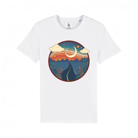 Road to the Mountains - tricou unisex [0]